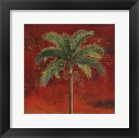 La Palma on Red II Framed Print