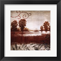 Red Land I Framed Print