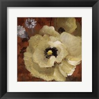 Autumn Poppies II - close up Framed Print