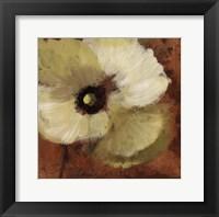 Autumn Poppies I - close up Framed Print