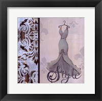 Style Framed Print