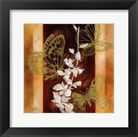 All a Flutter II Framed Print