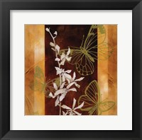 All a Flutter I Framed Print