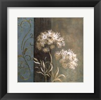 Delicate Beauty in Blue I Framed Print