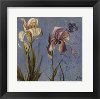 The Garden in Blue II Framed Print
