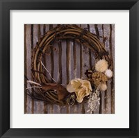 Wreath I Framed Print