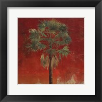 La Palma on Red IV Framed Print