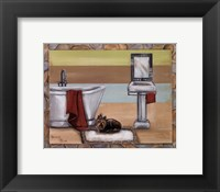 Sunday Dog II Framed Print