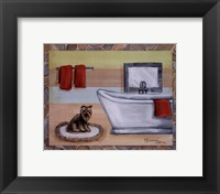 Framed Sunday Dog I