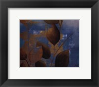 Eco Blue I Framed Print