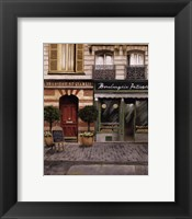 French Store I Framed Print