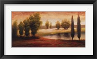 Summer Gleam Framed Print