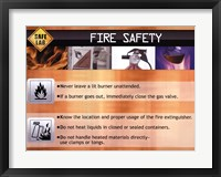 Framed Fire Safety