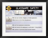 Framed Glassware Safety