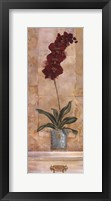Orchid Panel I Framed Print