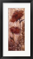 Long Tall Poppies II Framed Print