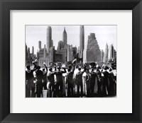 Framed Sailors in NY