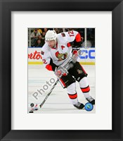 Framed Mike Fisher 2010-11 Action