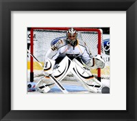 Framed Pekka Rinne 2010-11 Action