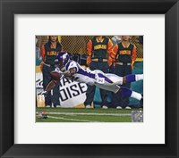 Framed Percy Harvin 2010 Action Receiving