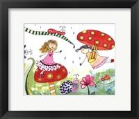 Framed Springtime Fairies