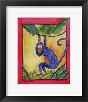 Framed Cheeky Monkey