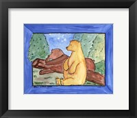 Bears Without Cares Framed Print