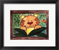 Here's Looking at You - Tiger Framed Print