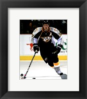 Framed Ryan Suter 2010-11 Action