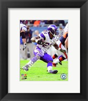 Framed Adrian Peterson 2010 Action