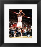 Framed Chris Bosh 2010-11 Action