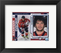 Framed Alex Ovechkin 2010 Studio Plus