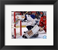 Framed Jaroslav Halak 2010-11 Action
