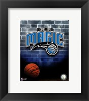 Framed 2010 Orlando Magic Team Logo