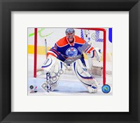 Framed Nikolai Khabibulin 2010-11 Action