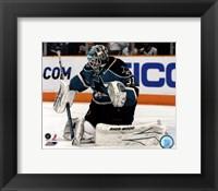 Framed Antti Niemi 2010-11 goalie