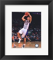 Framed Steve Nash 2010-11 Action