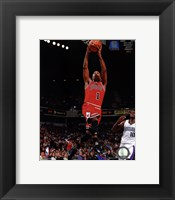 Framed Derrick Rose 2010-11