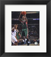 Framed Brandon Jennings 2010-11 Action