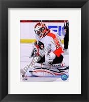 Framed Brian Boucher 2010-11 Action