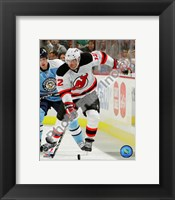 Framed Brian Rolston 2010-11 Action On The Ice