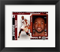 Framed Dwyane Wade 2010-11 Studio Plus