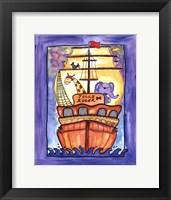 Framed Jolly Roger