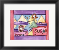 Framed Sugar and Spice