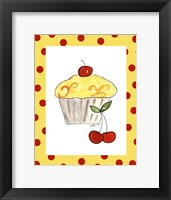 Framed Lemon Cupcake