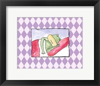 Framed Sleeping Baby III - Frog