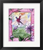 Framed Dragonfly Flight