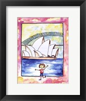 Framed Girl In Sydney