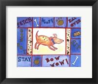 Framed Weenie Dogs Friend