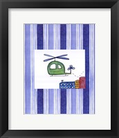 Framed Helicopter